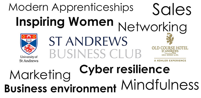 Client news – New business learning events at St Andrews Business Club