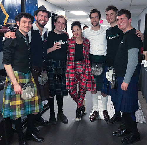 Client News – KT helps Craig make his 4th NYC Tartan Week the biggest yet