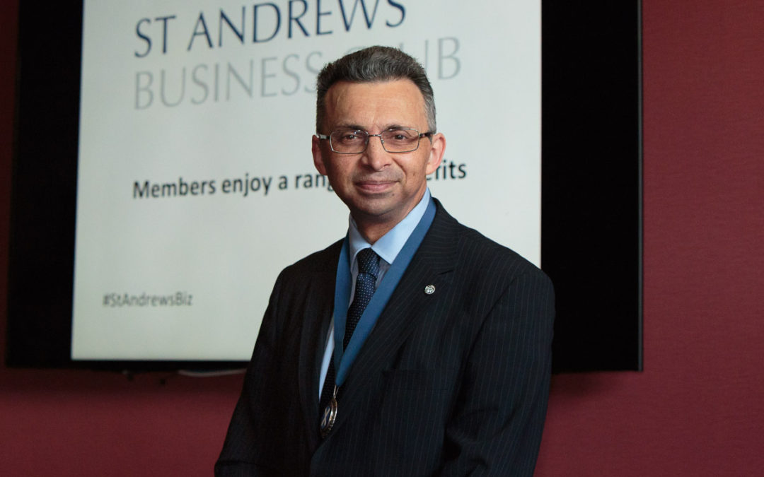 My news – I've been elected President of St Andrews Business Club