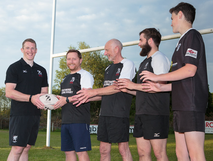 Client News – Angus rugby charity passes community projects ball to Josh