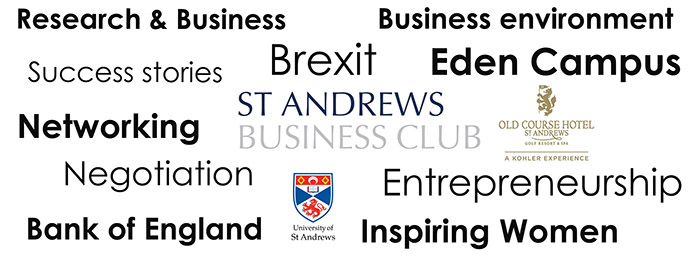 Client News – St Andrews Business Club 2018-19 season aiming to build on record success