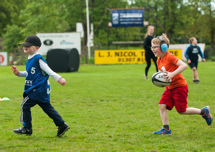 Client News – Angus sports charity brings autism-friendly rugby to Scotland