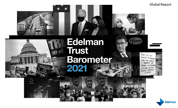 The opportunities for Business Leaders revealed in the Edelman 2021 Trust Barometer