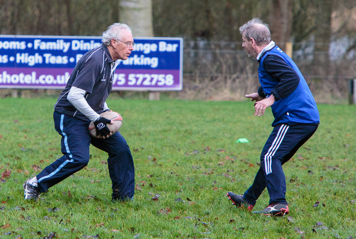 Client News – Walking Rugby returns to tackle Angus Lockdown lard, isolation & Covid