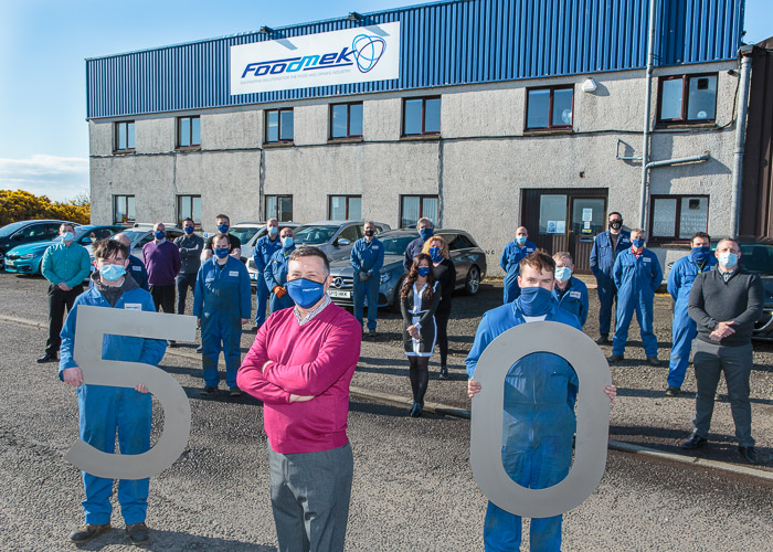Client News – Foodmek celebrates 50 years with growth plan success